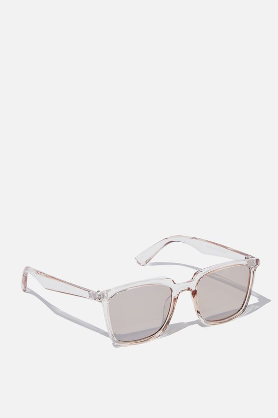 Newtown Sunglasses, CRYSTAL SAND/GREEN