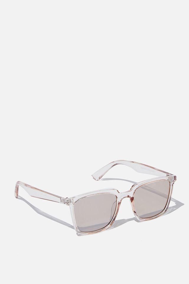 Newtown Sunglasses, CRYSTAL SAND/GREEN