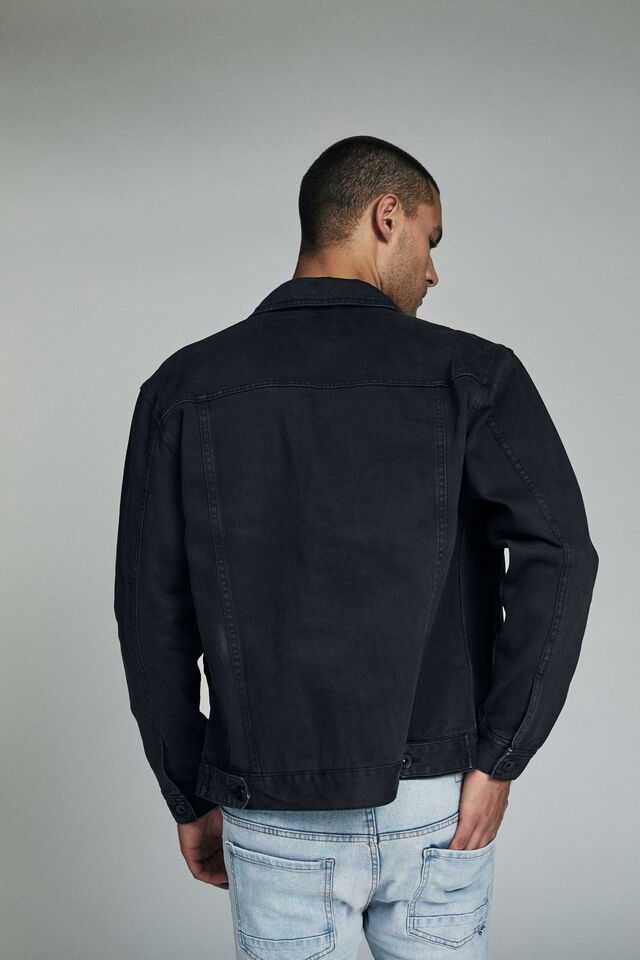 Rodeo Jacket, DISTRESSED BLACK