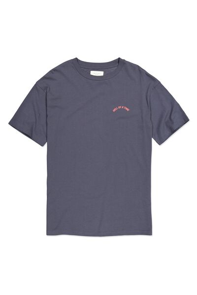 Tbar Tee, SK8 LATE NIGHT BLUE/HELL OF A TIME