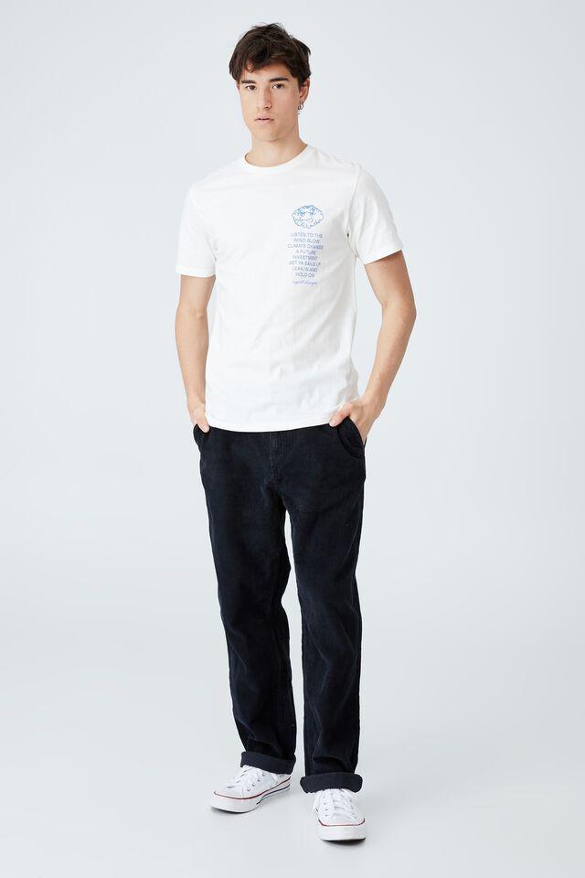 Tbar Art T-Shirt, VINTAGE WHITE/CHANGES
