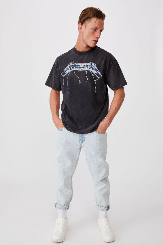 Special Edition T-Shirt, LCN PRO BLACK/METALLICA-RIDE THE LIGHTNING