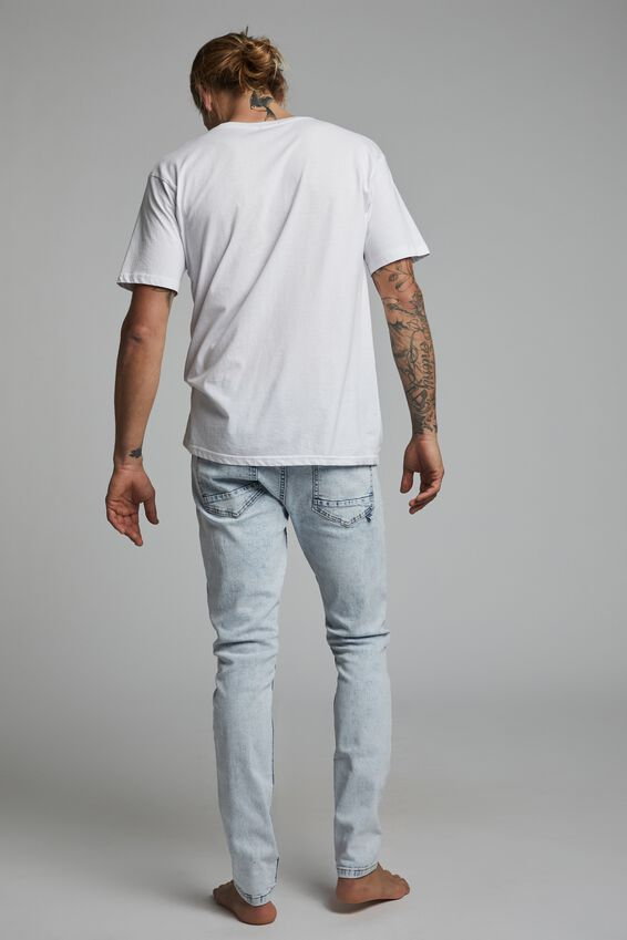 Super Skinny Jean, APOLLO BLUE