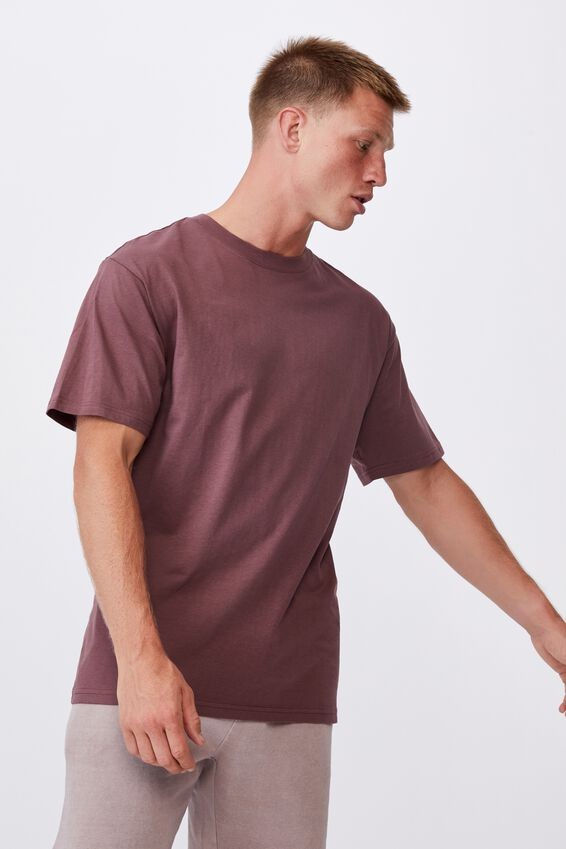 Essential Skate T-Shirt, AGED WINE