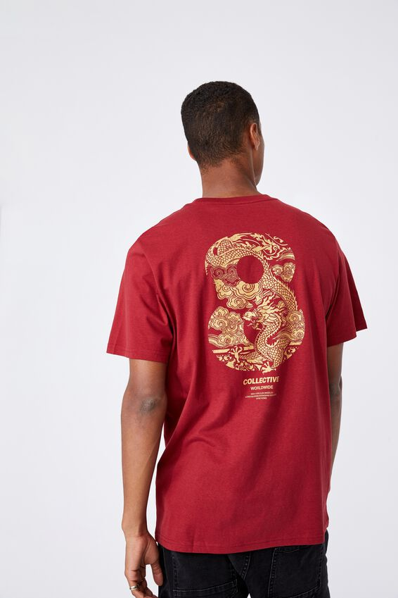 Tbar Cny T-Shirt, CHILLI PEPPER/DRAGON EIGHT