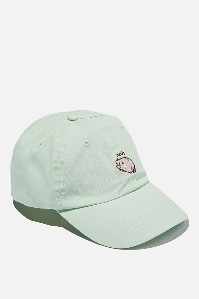 Special Edition Dad Hat, LCN PUSH AQUA/PUSHEEN NAH