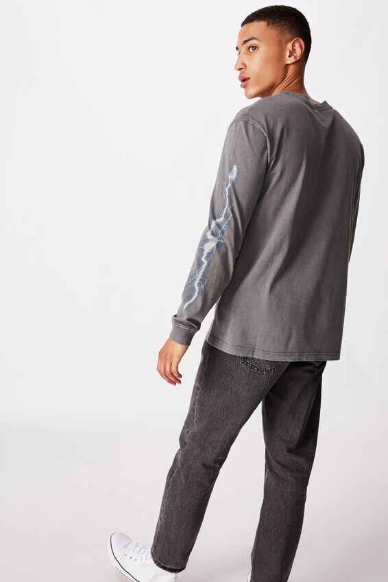 Bondi Long Sleeve, FADED SLATE/STEEL MACHINES