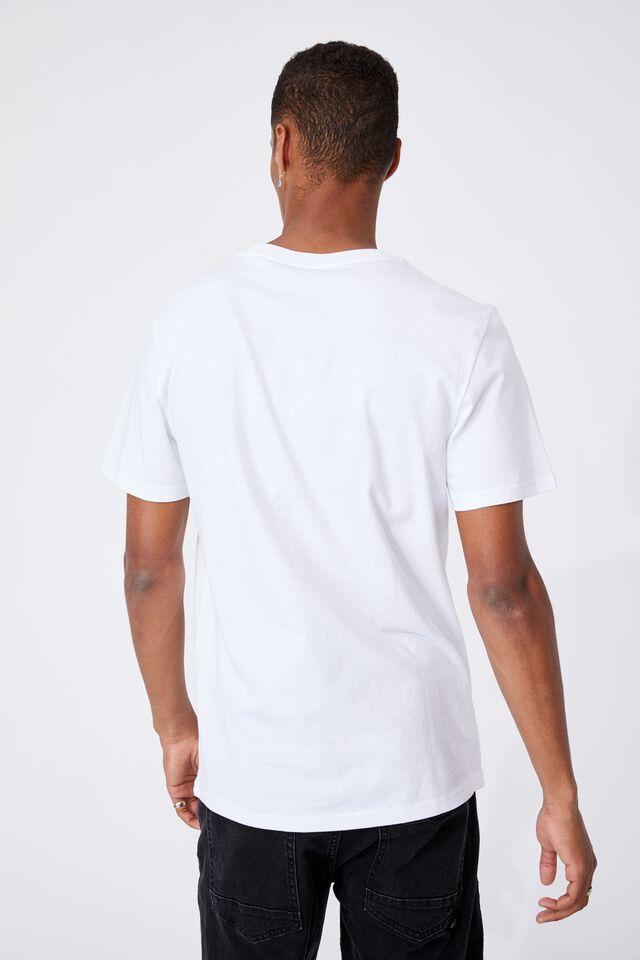 Tbar Collab Icon T-Shirt, LCN BRA WHITE/RUN DMC-LOGO