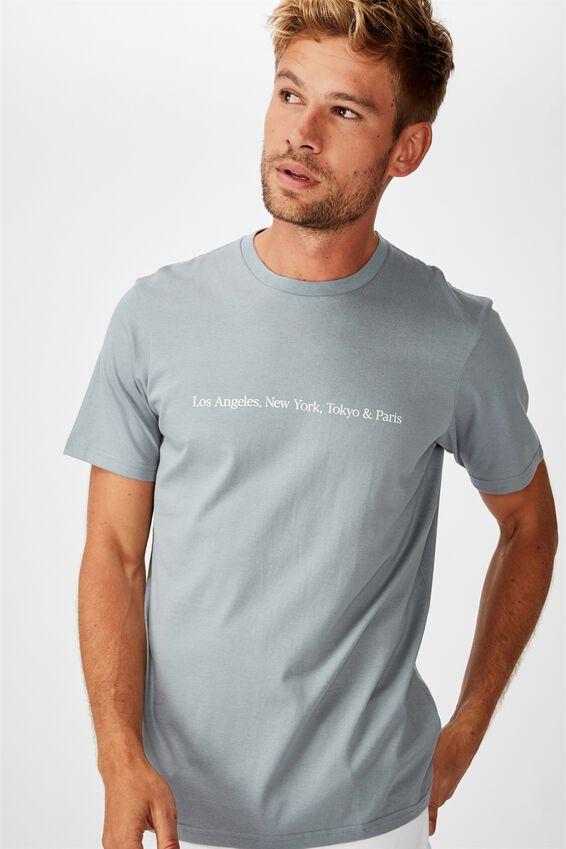 Tbar Text T-Shirt, CITADEL/TOKYO & PARIS