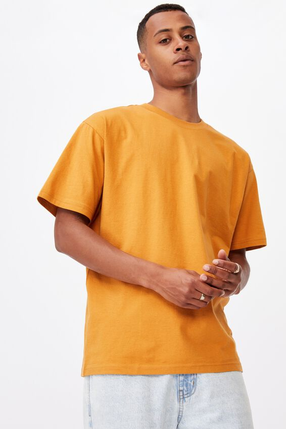 Essential Skate T-Shirt, BUCKSKIN GOLD
