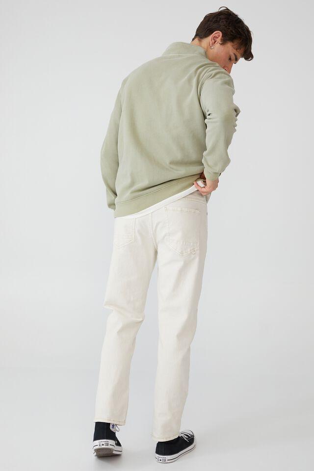 Quarter Zip Fleece, SAGE