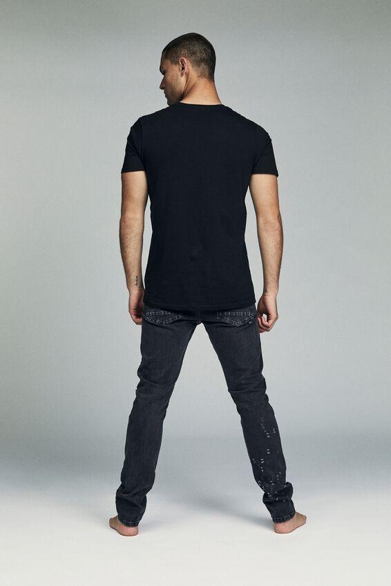 Slim Fit Jean, SHRAPNEL BLACK