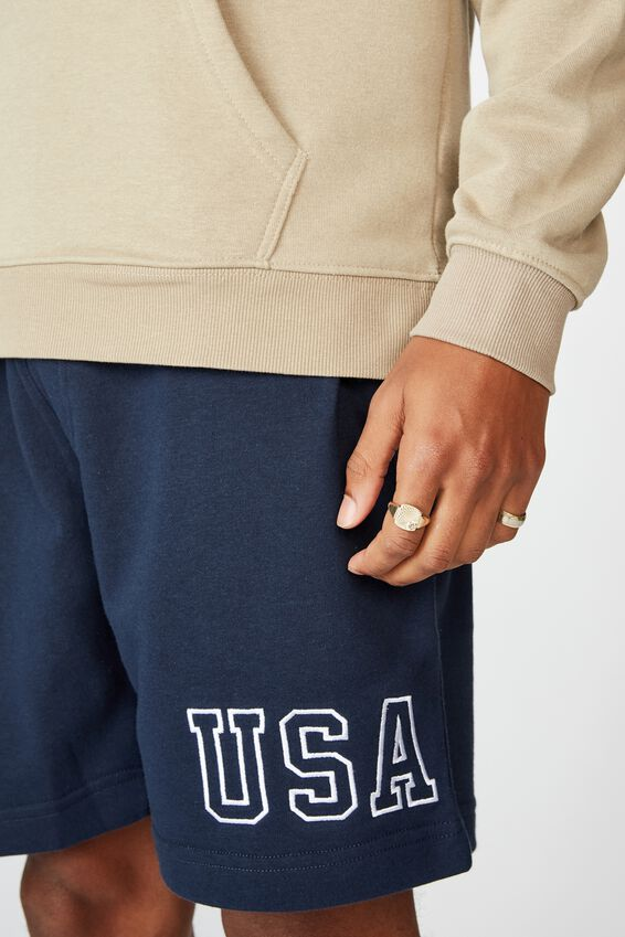 Volley Jogger Short, NAVY / USA