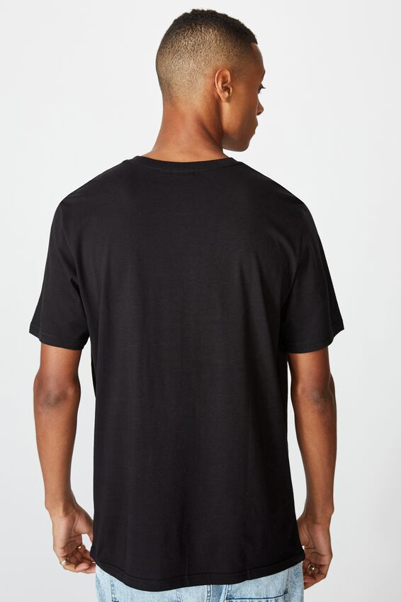 Tbar Street T-Shirt, BLACK/UNKNOWN PROJECTS CHEST