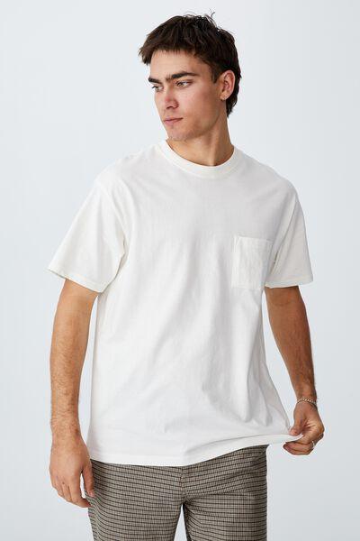 Loose Fit T-Shirt, VINTAGE WHITE