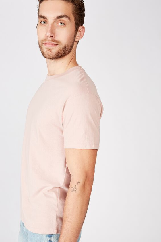 Essential Skate Tee, DIRTY PINK
