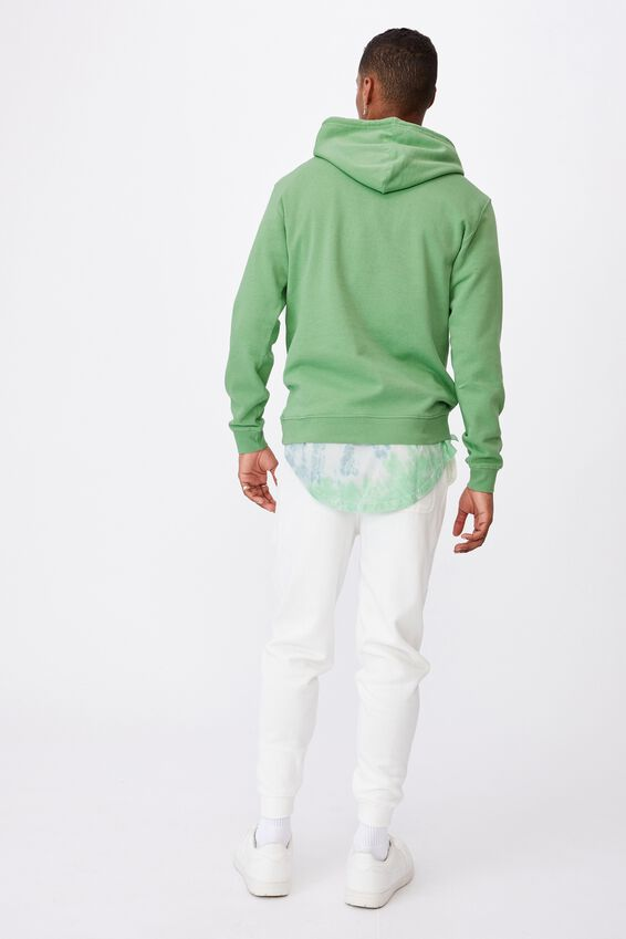 Essential Fleece Pullover, WASHED APPLE