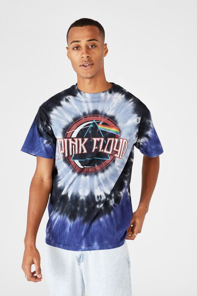 Special Edition T-Shirt, LCN PER WHITE PINK FLOYD - TIE DYE