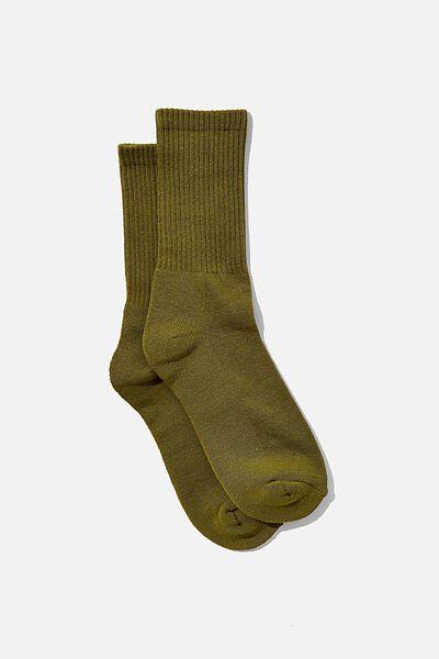 Essential Active Sock, CALLISTE GREEN