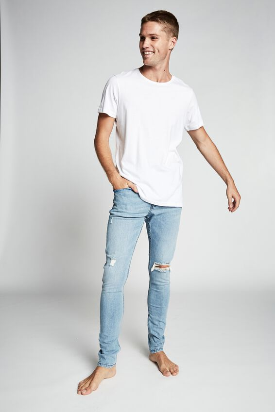 Super Skinny Jean, POWDER BLUE