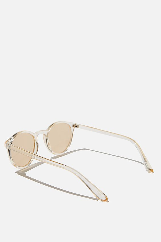 Lorne Sunglasses, CRYSTAL/BROWN