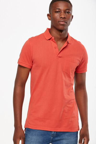 Icon Polo, RED POCKET SLIM