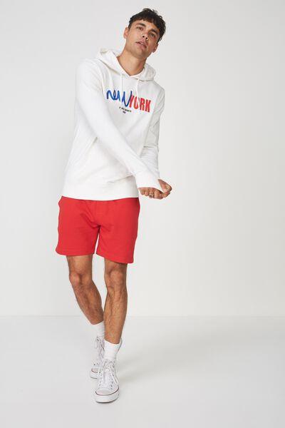 Fleece Pullover 2, VINTAGE WHITE/STREETSPORTS