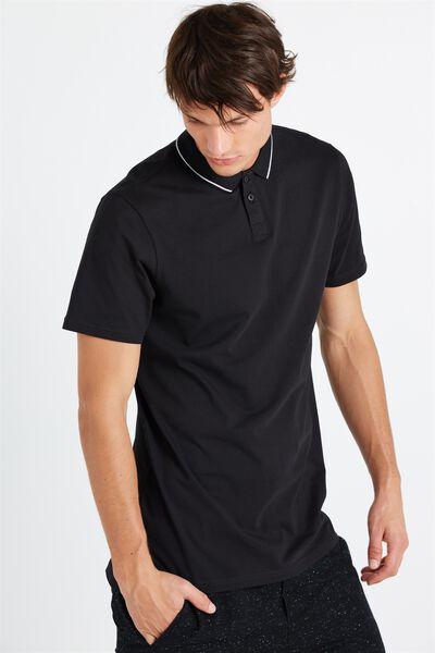 Ae Street Polo, BLACK PRINT