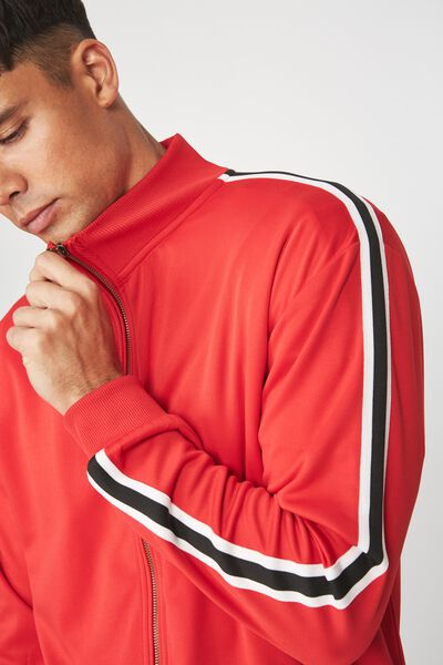 Tricot Jacket, STRONG RED