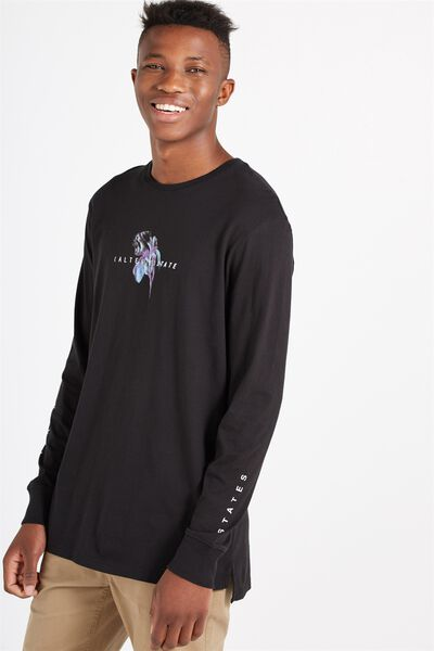 Among Equals Long Sleeve, BLACK/ALTERED STATE