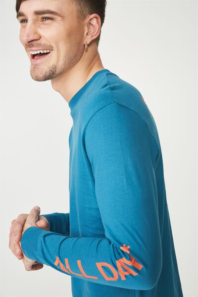 Tbar Long Sleeve, METHYL BLUE/EVERYDAY