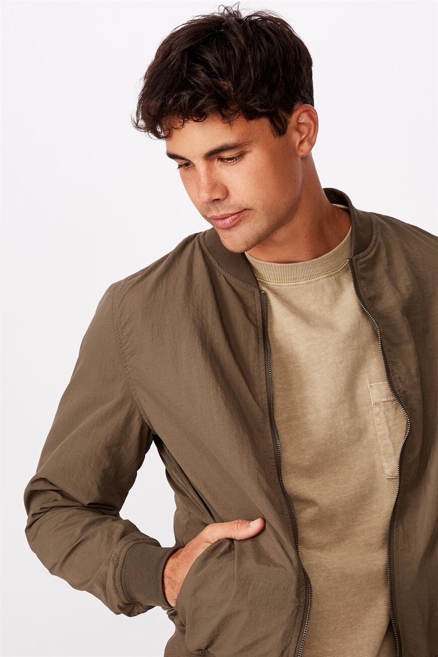 Resort Bomber Jacket   Cotton On