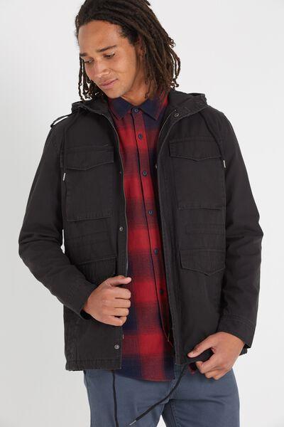 M65 Jacket, BLACK