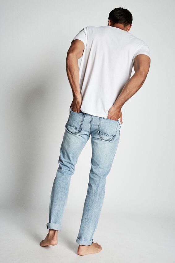 Slim Fit Jean, GRAVITY BLUE   RIPS