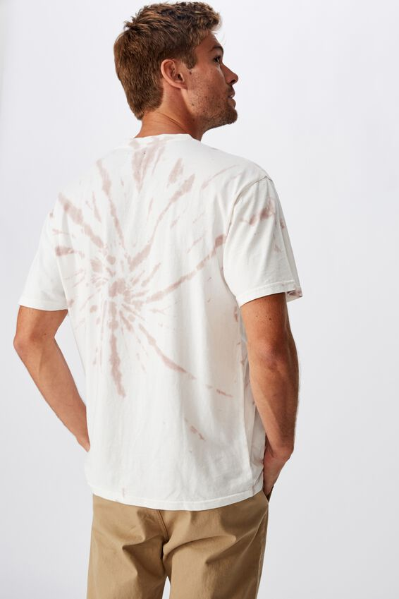 Festival T-Shirt, VINTAGE WHITE DIRTY PINK