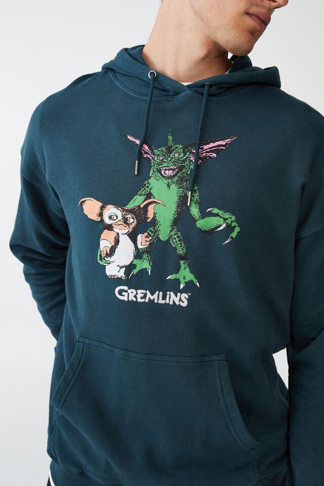 Special Edition Fleece Pullover, LCN WB DEEP SEA TEAL/GREMLINS - GIZMO