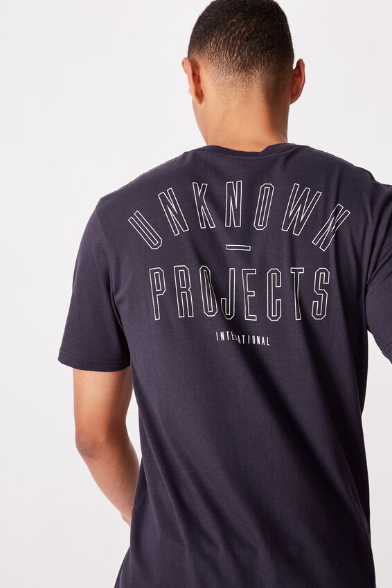 Tbar Street T-Shirt, TRUE NAVY/UNKNOWN PROJECTS
