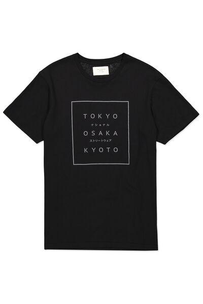 Tbar Tee, BLACK/TOKYO OSAKA KYOTO 1