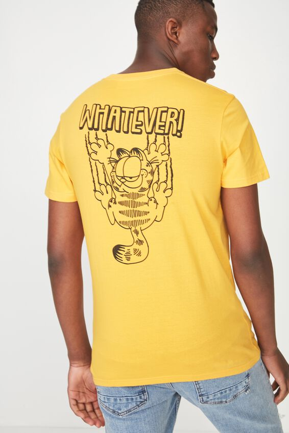 Garfield T Shirt, LC ZINNIA YELLOW/GARFIELD WHATEVER