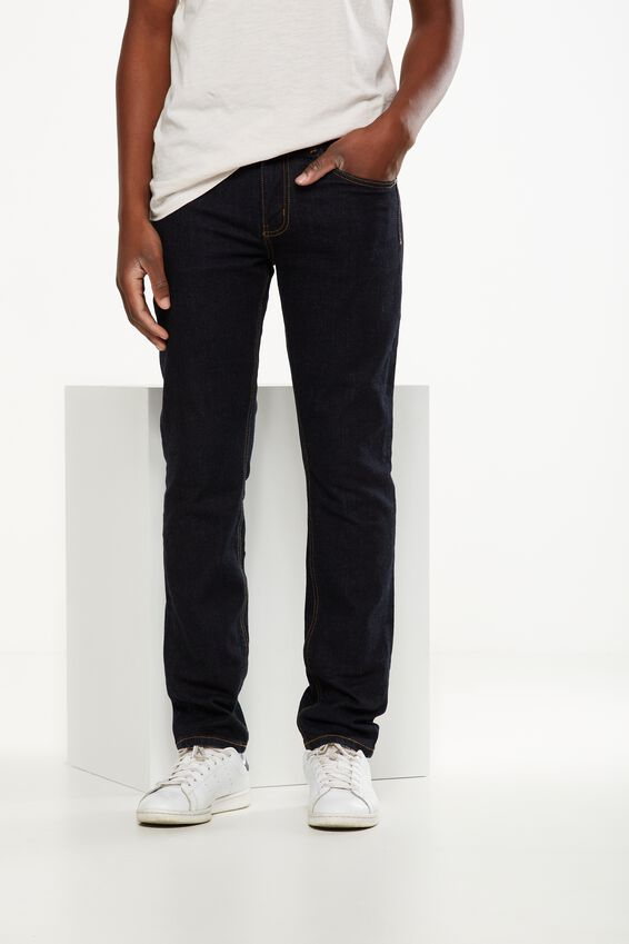 Slim Fit Jean, RAW RINSE