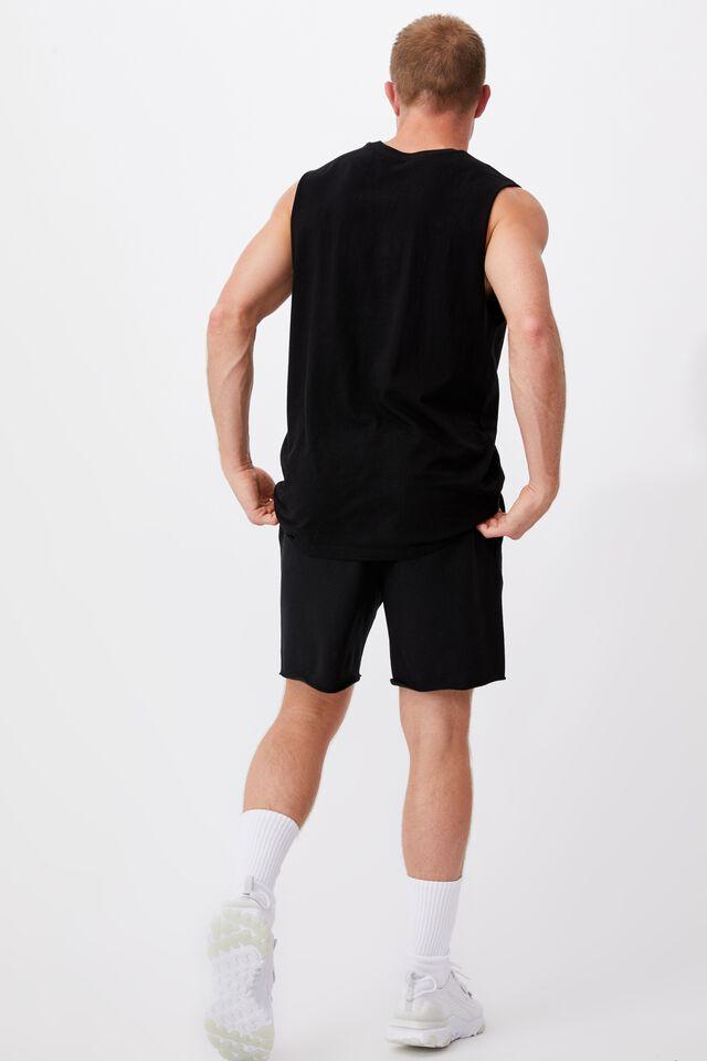 Active Nfl Fleece Short, LCN NFL BLACK/RAIDERS