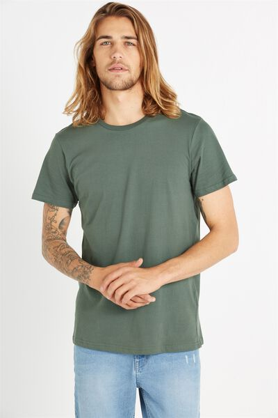 Essential Crew Tee, FROSTED KHAKI