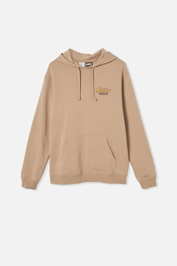 Collab Fleece Pullover, LCN GRAVEL STONE/REESES PEANUT BUTTER CUP
