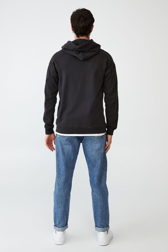Special Edition Fleece Pullover, LCN UNI WASHED BLACK/CASPER MOVIE POSTER