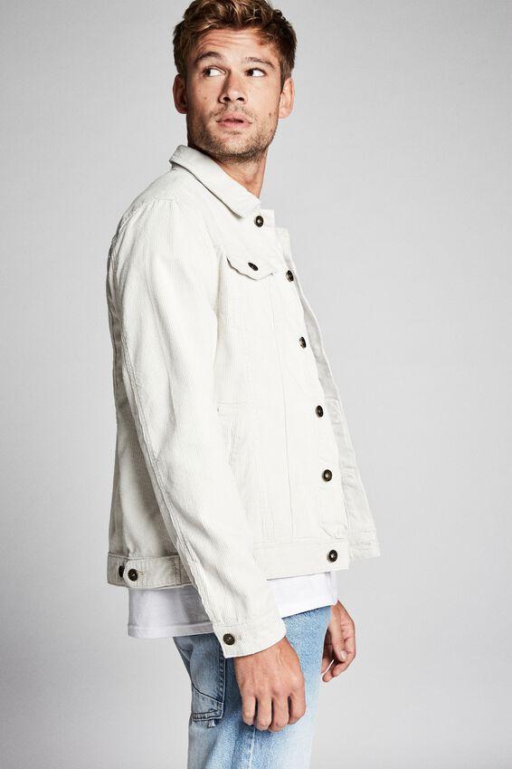 Rodeo Jacket, ECRU CORD