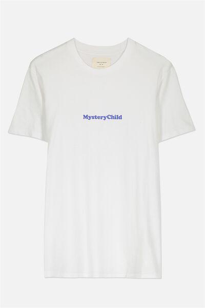 Tbar Tee 2, WHITE/MYSTERY CHILD