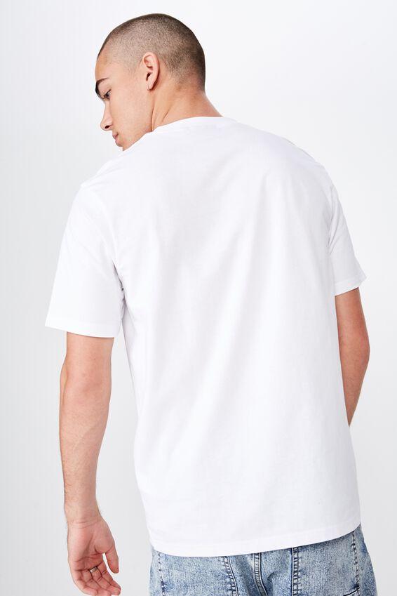 Tbar Collab Music T-Shirt, LCN MT WHITE/BIGGIE - COUCH
