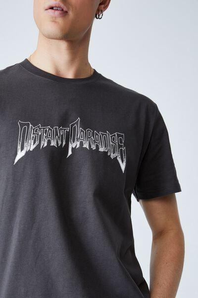 Tbar Street T-Shirt, FADED SLATE/DISTANT PARADISE