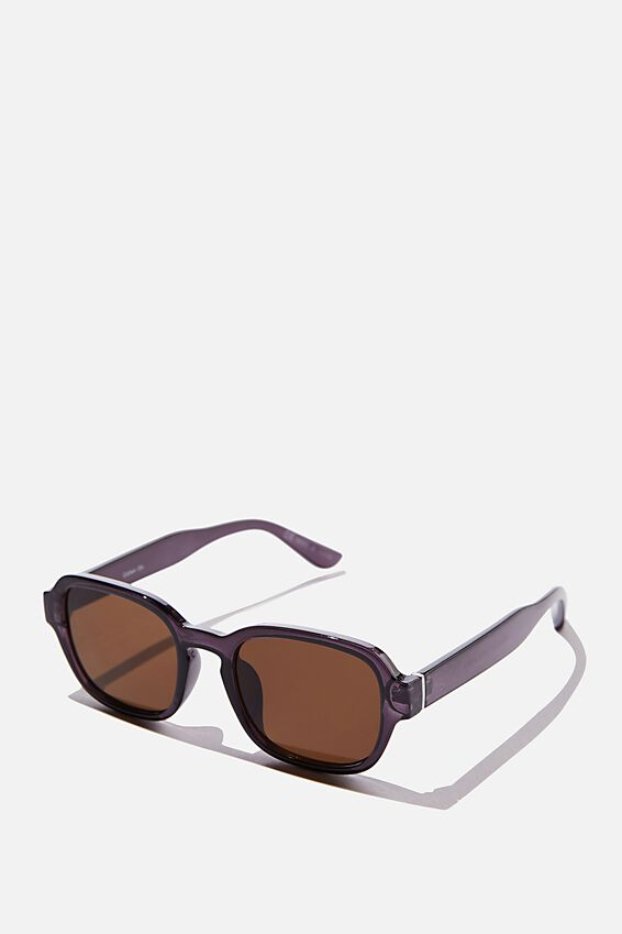 Breamlea Sunglasses, GREY/BROWN