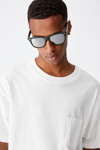 Beckley Sunglasses, MATTE KHAKI/BROWN